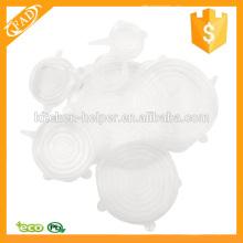 Langlebige Spülmaschine Safe Stretch Silikon Lagerbehälter Deckel