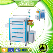 Anti-Rust and Anti-corrosion resuscitation trolley for hospital