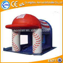 Hat shape bouncy castle inflatable nemo bouncer, funny baby bouncer with mosquito net