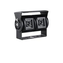 Câmera de carro 1080P de lente dupla frontal e traseira