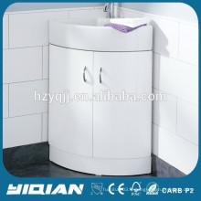 Cabinet de salle de bain moderne Cabinet de coin en laque brillant Cabinet de lavabo de baignoire Cabinet de douche en MDF