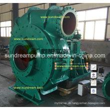 Hochdruckindustrie-horizontale zentrifugale Bagger-Kies-Sand-Pumpe