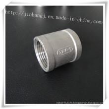 Connecteur d'articulations en dents intérieures en acier inoxydable