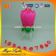 Fashionable Flower Music Candle Lights for sale