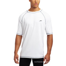 O Men′s Upf 50+ Easy Short Sleeve Swim Tee Rashguards