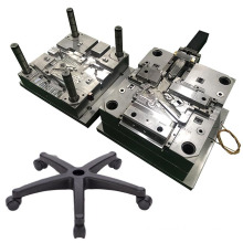 design custom precision injecting pieces molding chair base office chair part plastic injection mold