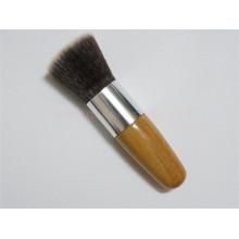 Alta qualidade Flat Top Bambu Kabuki maquiagem escova