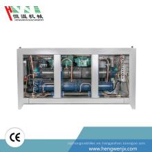 Refrigerador refrigerado por agua del fabricante de China con el compresor sanyo