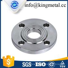 """Brida de roscado de acero al carbono ANSI estándar de 1"""""""