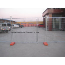 Australian Type Removable Galvanized Temporary Fencing/Welded Wire Mesh Temporary Fence/ASTM 4678 Galvanized Australia Temporary Fence Used for Construction