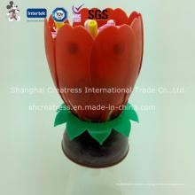 Высокое качество вращающихся Lotus свеча