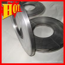 Anillo de titanio de tamaño personalizado Gr1with alta calidad