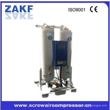 2-tower 1.2Nm3 / min pressure dew point - 20 ~ - 40 degree heatless desiccant air dryer