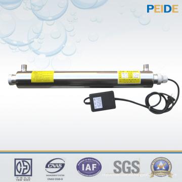Tratamiento de agua ligera UV para la purificación de la desinfección del agua