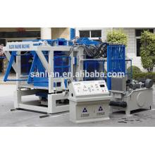 Máquina de moldagem de blocos de concreto totalmente automática para o Paquistão