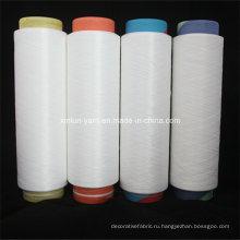100% полиэстер Dope Dyed Yarn с Nim DTY Вязание