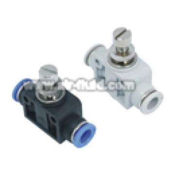 Luft-/ Flüssigkeits-JSA Flow Control Gerader Verbinder