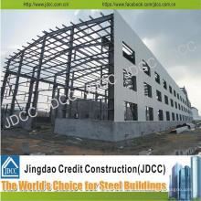 Light Steel Structure Werkstatt Warehouse Building Design, Herstellung und Installation