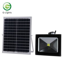 COB Chip LED Solar Flood Light 50w