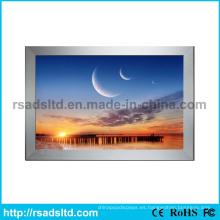 LED caja de luz de pantalla de la tela de China