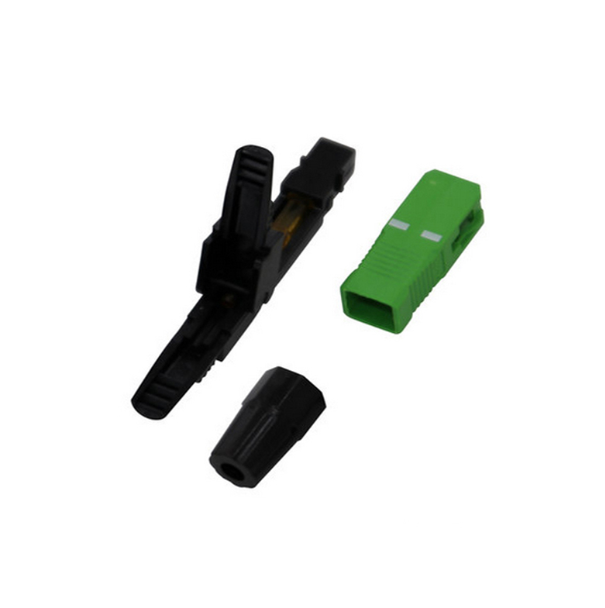 Sc Apc Fiber Optic Quick Connector