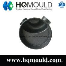 Moulage par injection de chambre d'inspection de coude en plastique pour le système d'eau d'égout