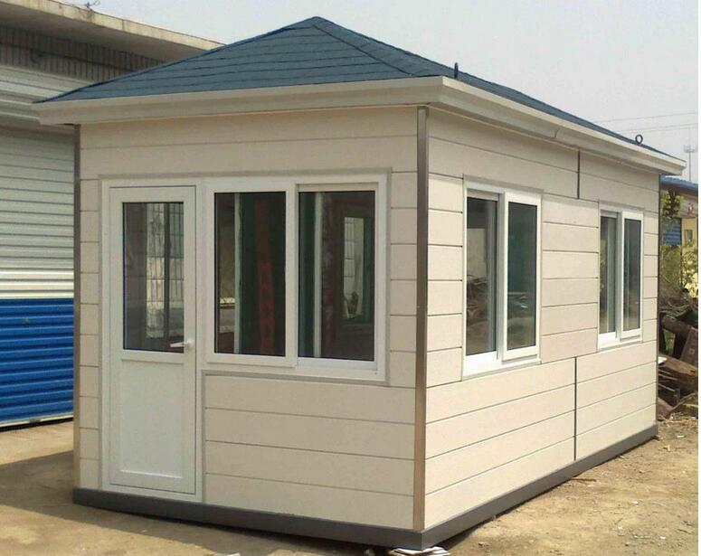 Light Steel Prefab Sentry Box Guard House