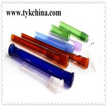 Toma color cristal de tierra juntas para pipa de agua de vidrio