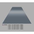 Glossy Iron Grey Aluminum Sheet Plate 1.6mm