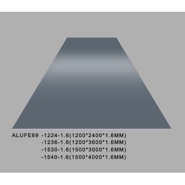 Gloss Iron Grey Aluminum Sheet Plate 5052 1200*2400*1.6mm