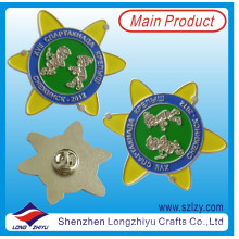 Customized Russian Silver Lapel Pin for Children (LZY-10000294)