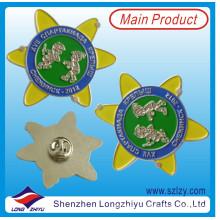 Подгонянный русское серебро Лацкан PIN-код для детей (LZY-10000294)