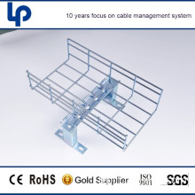 china suppliers metal wire mesh rung cable tray with rohs sgs cable tested