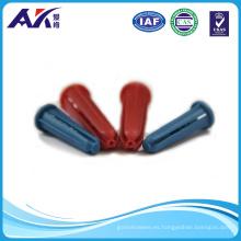 Ancla plástica cónica colorida del PP