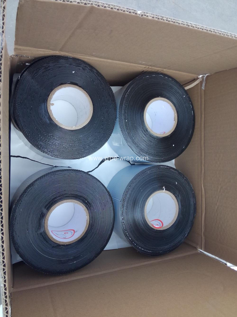 Oil pipeline self adhesive hatch cover tape/bitumen strip for flanges