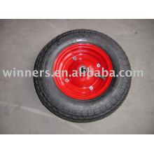 ruedas de goma de aire