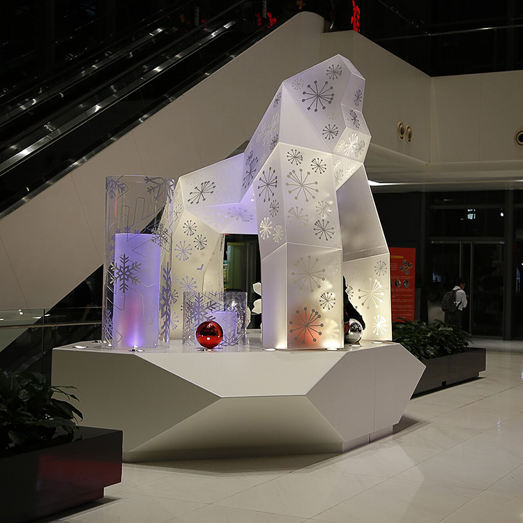 Acrylic Installations And Fixtures Gorilla 2