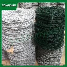 PVC revestido arame farpado de Anping shunyuan Wire Mesh Co ,. Ltd.