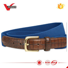 2015 Hottest elastic stretchy belts for mens