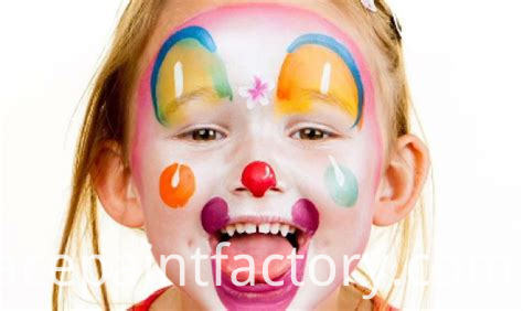 kids face paint crayon