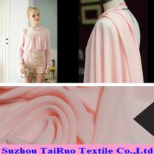 100% Poly Silk Chiffon für Dame Garment Fabric