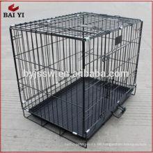 "Hebei Shijiazhuang schwarz 48 ""2 Tür Haustier Käfig (billige Fabrik direkt)"