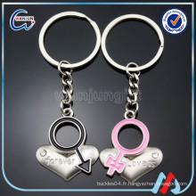 Cute Couple Keychain, Lover Keychain