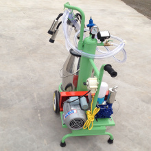 easy moved milking machine with one barrel