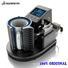 Sunmeta 2015 Nova chegada da primeira máquina de impressão pneumática da caneca da sublimação ST-110