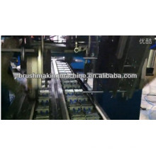Brosse de bande d'industrie à grande vitesse de 2 axes de commande numérique par ordinateur 2 têtes de forage et une machine de tufting de tête