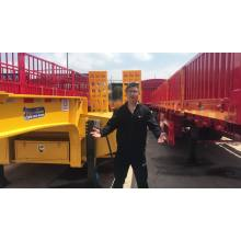 Low Price High Quality Low Bed Truck Trailer