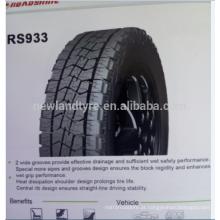 China fornecedores 4wd pneus 285 / 75r16 caminhão leve pneus de carro
