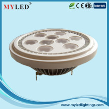 Haute qualité led dimmable gu10 led AR111 12v g53 AR111 lumières led 10w