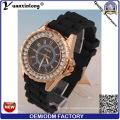 Yxl-164 Fashion Diamond Ladies Watch Quartz Silicone Sport Lady Watches Gift Geneva Wrist Watch in Stock Wholesale Factory